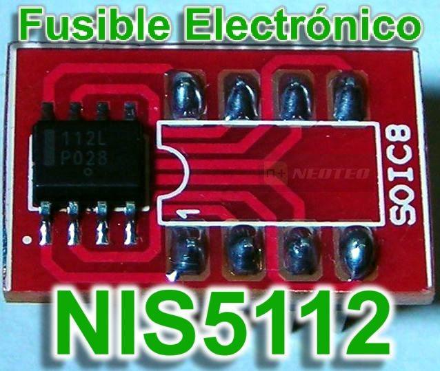 NIS5112: Fusible Electrónico Programable
