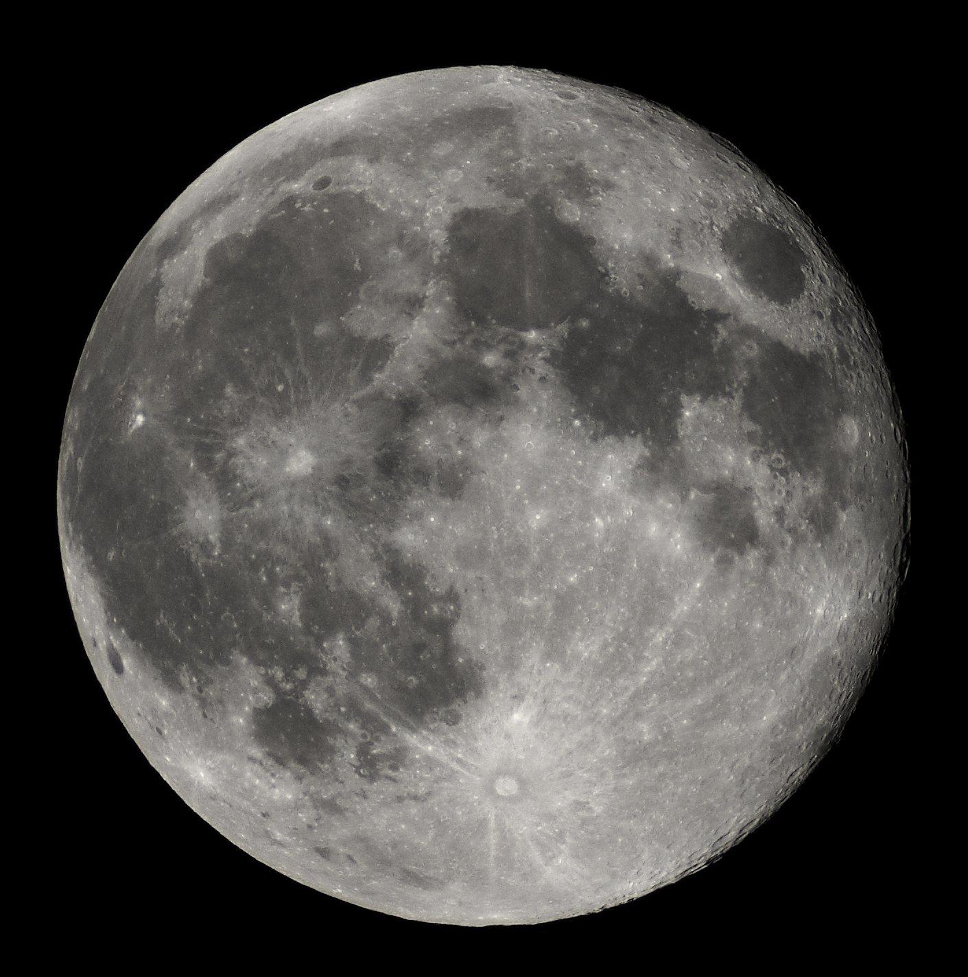 La Luna, más cerca de la Tierra