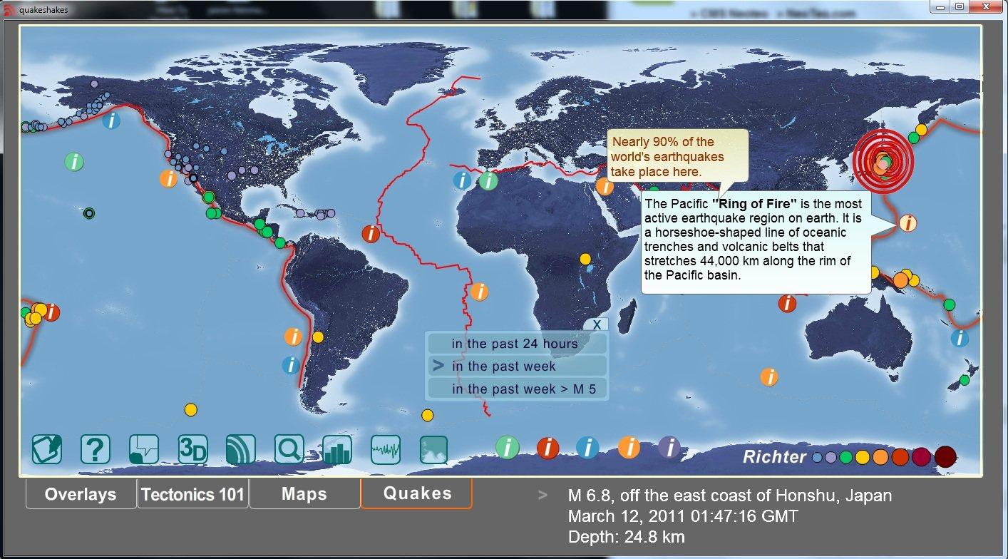 QuakeShakes: Sistema de monitoreo de terremotos en tiempo real