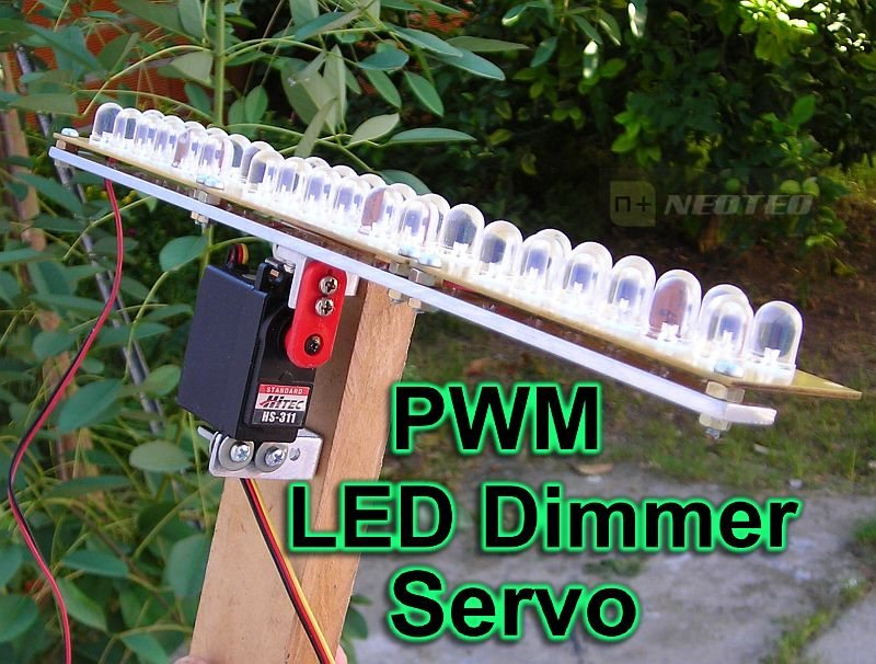 LED Control: PWM, Servo y LED Dimmer