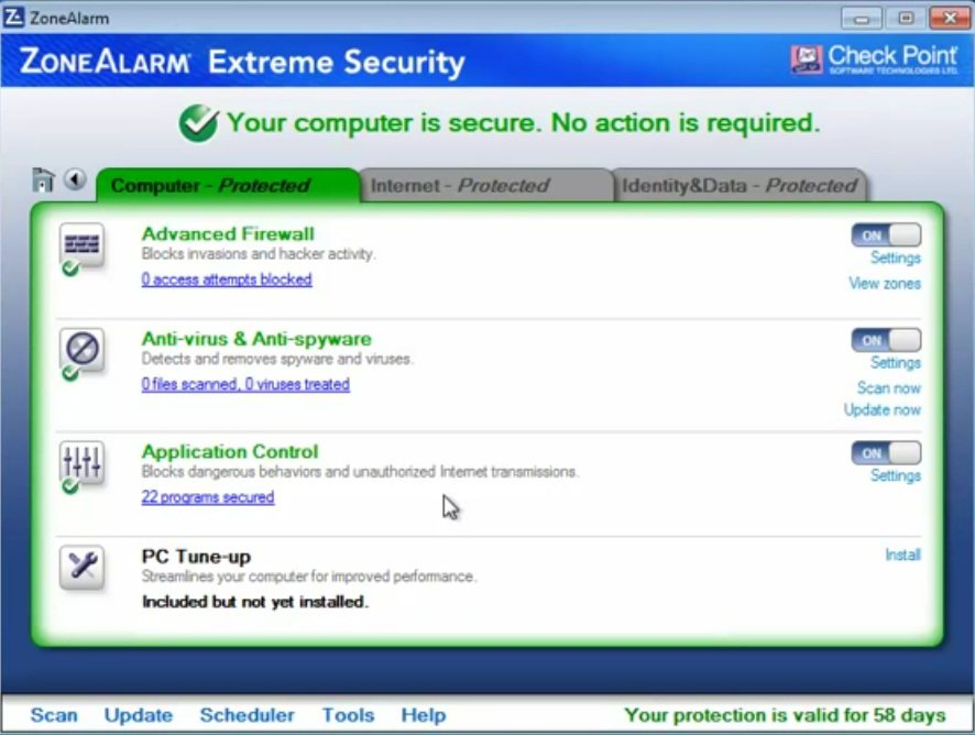 ZoneAlarm Extreme Security 10 Beta - Neoteo