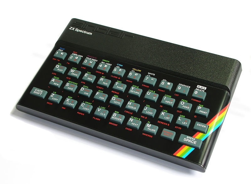 Retroinformática: Sinclair ZX Spectrum (1982)