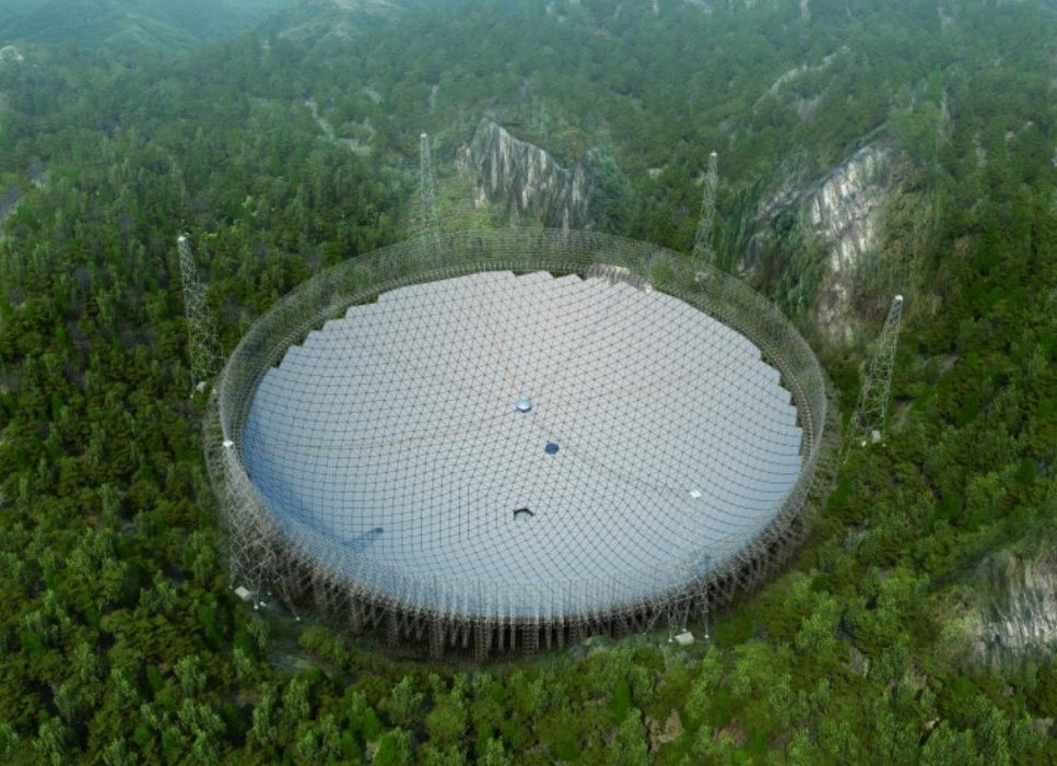 FAST: China tendrá el radiotelescopio más grande del mundo