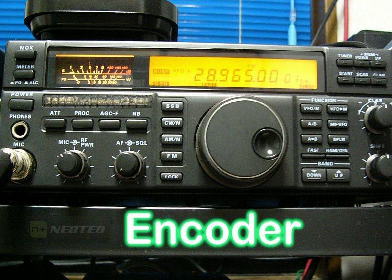 Encoder con 18F2550 (Entrenadora NeoTeo)