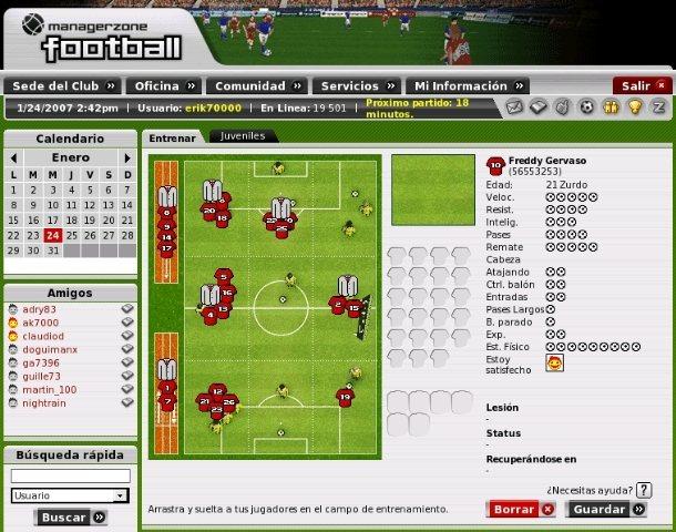ManagerZone, ¡maneja tu propio club de fútbol!