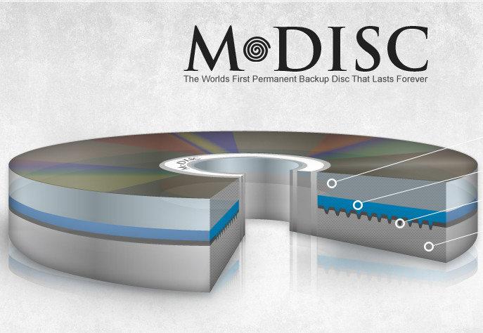 M-Disc: ¿Discos ópticos que duran para siempre?