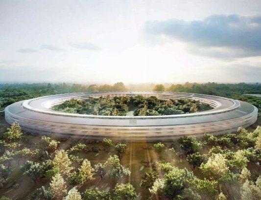 El Apple Campus, más grande que el Pentágono
