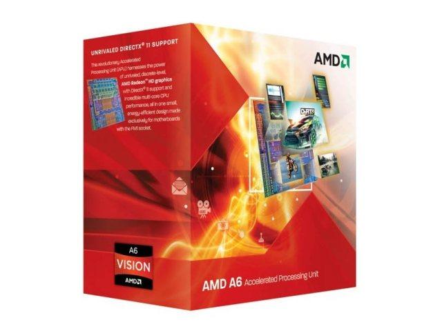 AMD A6-3500: El primer APU de tres núcleos