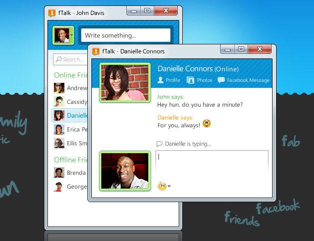 fTalk: Messenger para Facebook