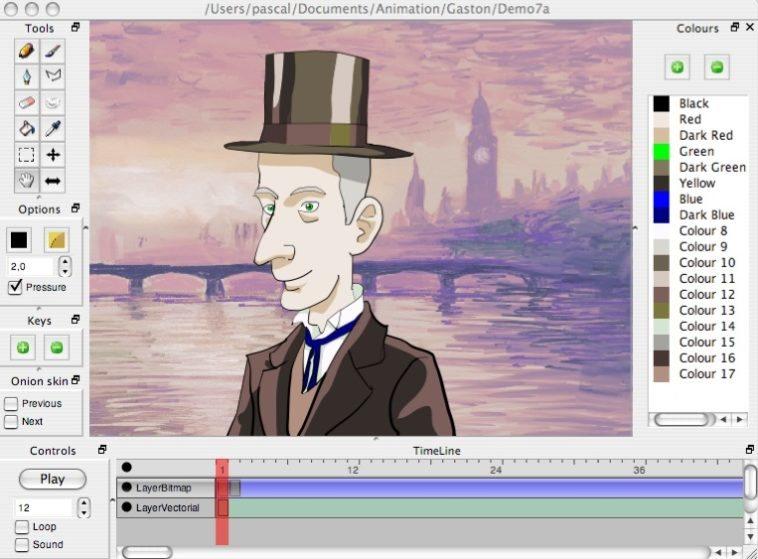 Pencil Dibujo Y Animación 2d Multiplataforma