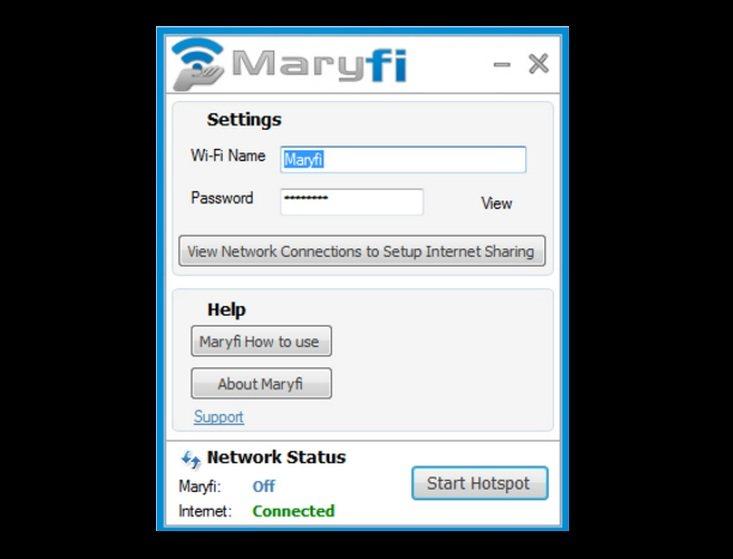 Marify: Convierte tu PC en un punto de acceso WiFi