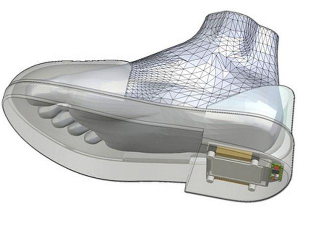GPS Shoe: Zapatos con GPS