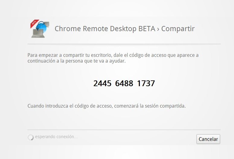 Chrome Remote Desktop: Comparte el Escritorio vía Chrome