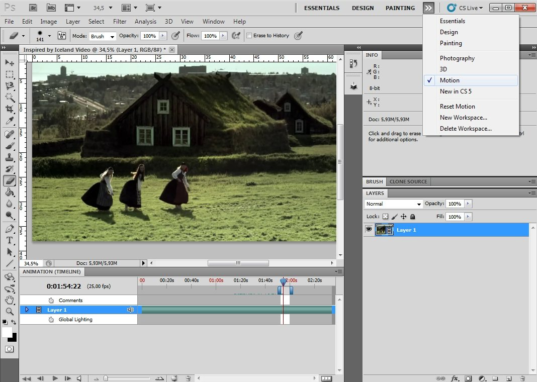 Cinemagraph: Cómo crear fotos en movimiento