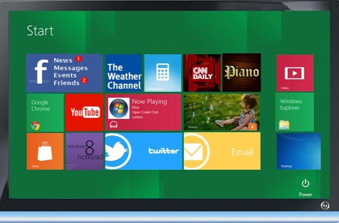 "Windows 8 Simulator: ""Simulador"" de Windows 8"