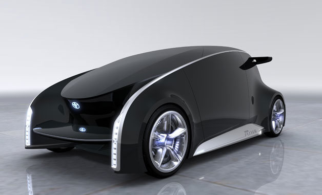 Toyota Fun Vii: el futuro sobre ruedas (vídeo)