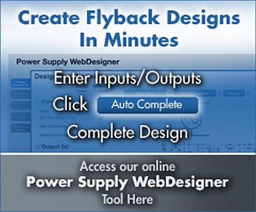 Diseña tus fuentes conmutadas en línea