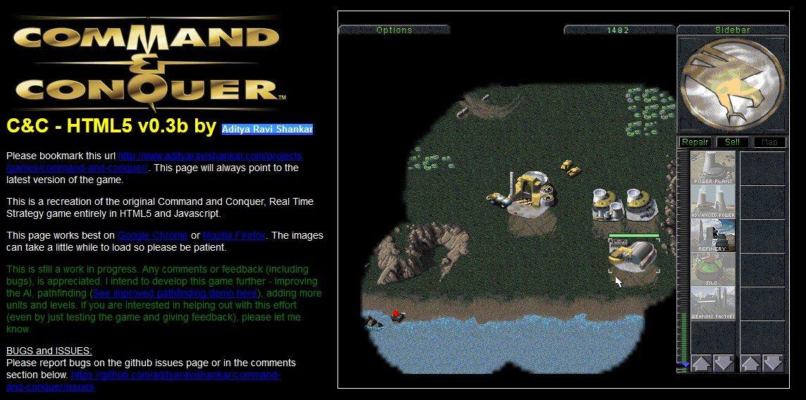 Command & Conquer en HTML5