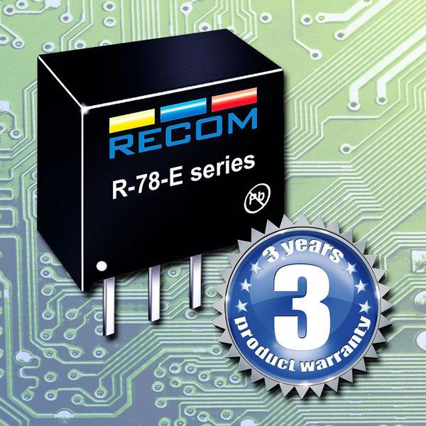 R-78E ¿Adiós al Regulador de Tensión 7805?