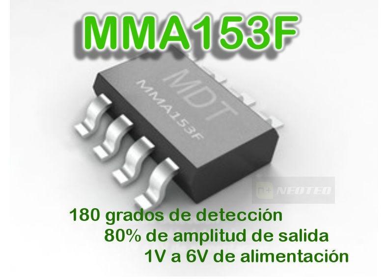 MMA153F: Sensor Magnético de Giro (180 grados)