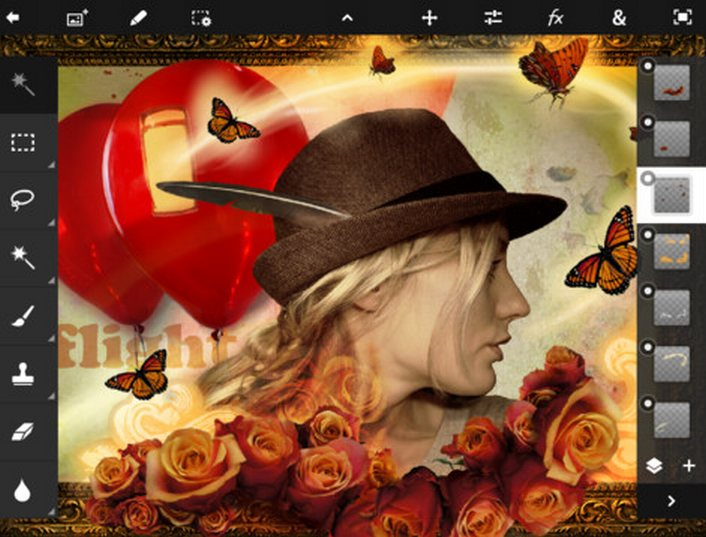 Photoshop Touch para iPad