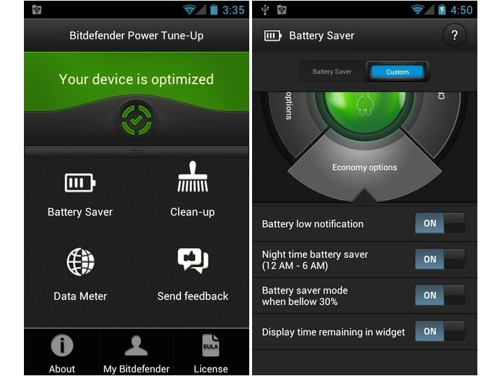 Bitdefender Power Tune-Up: Optimizador para Android
