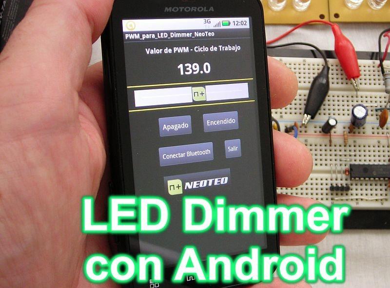 Iluminación LED con Android (II)