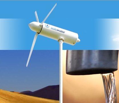 09793bda918 Turbina eólica transforma aire en agua potable - NeoTeo