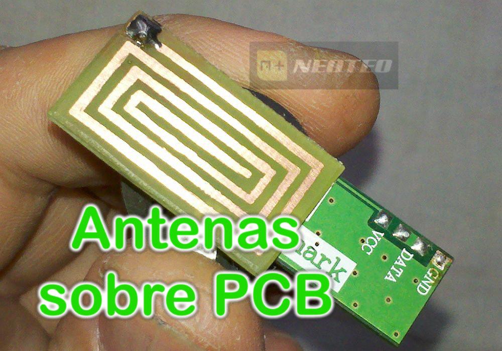 Antenas hechas en PCB