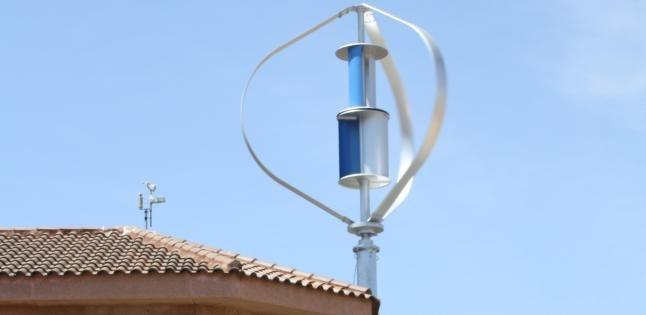 Energía eólica con molinos de viento hogareños