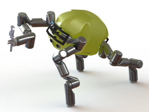 Simio robot del JPL de la NASa