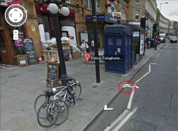 Acceso a la TARDIS