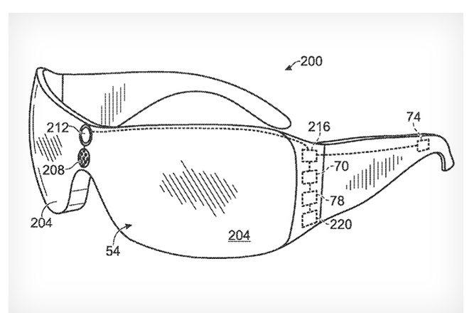 Gafas de realidad aumentada - Concepto