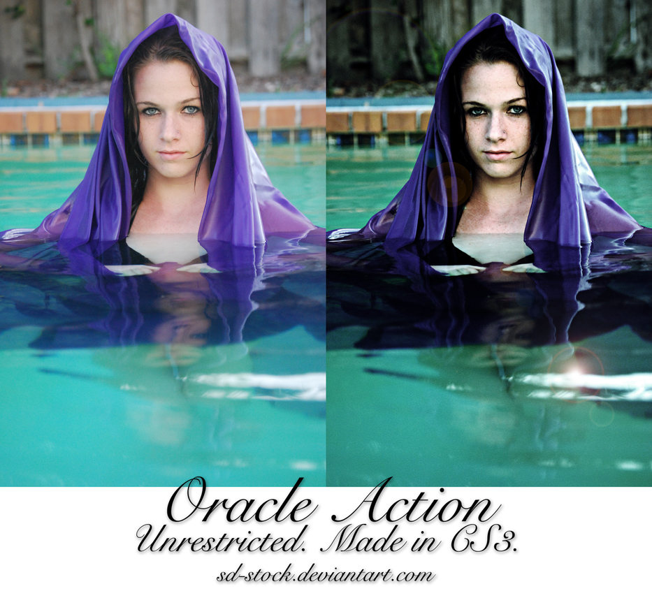 Acción para efecto de oráculo místico