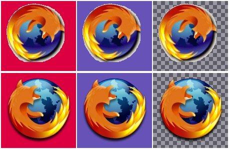 APNG en el logo de Firefox