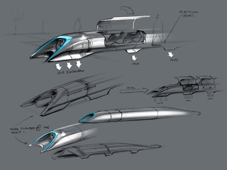 Concepto Hyperloop