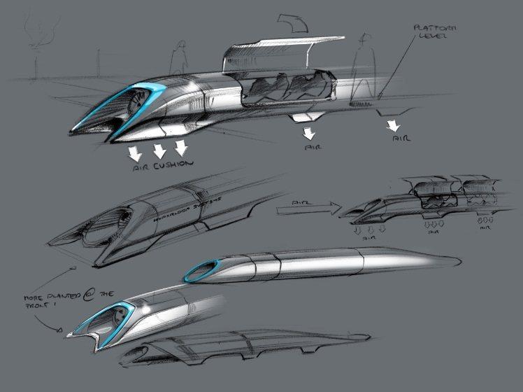 Concepto Hyperloop