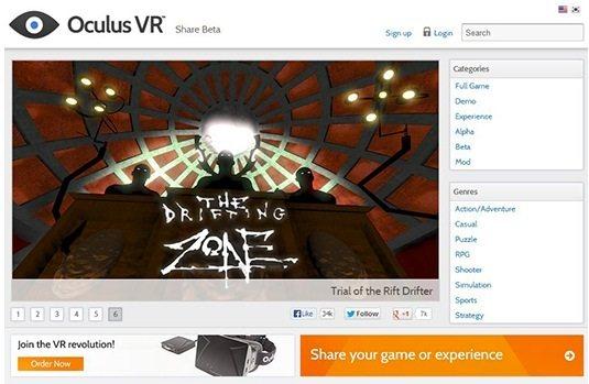 Oculus Share