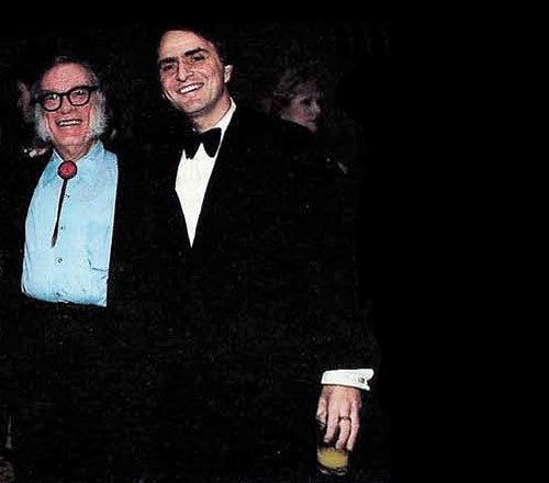 La admiración de Isaac Asimov por Carl Sagan