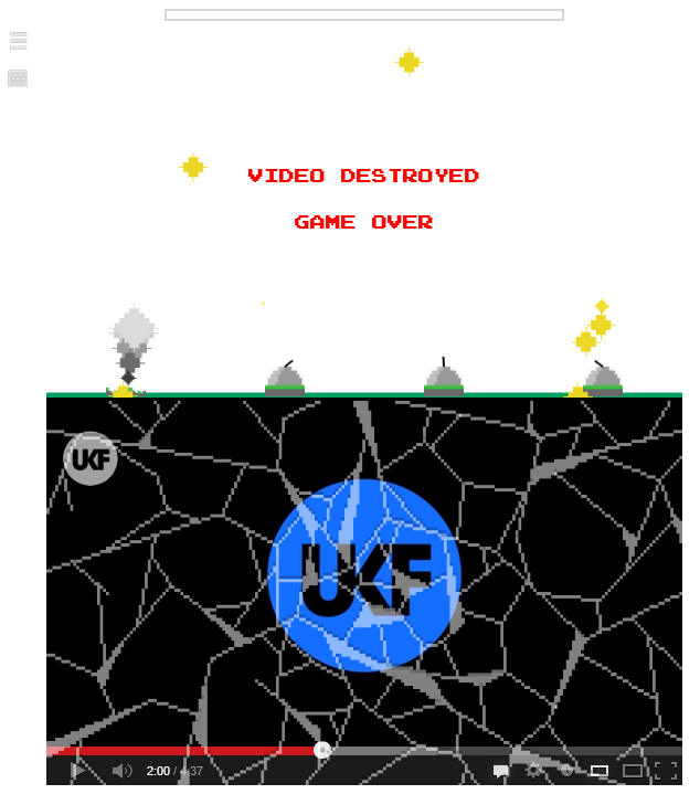 Missile Command en YouTube