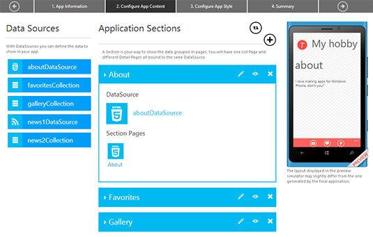 Crea tu propia app de Windows Phone