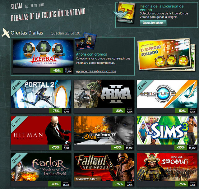 Rebajas de Steam