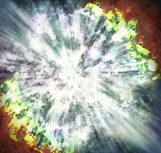 Qué sonido haría una supernova explotando?