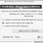 Con WinUSB Maker podrás transferir la instalación de Windows al dispositivo USB