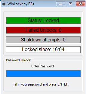 Lock Windows