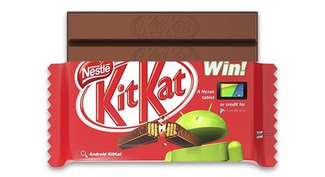 Barra de KitKat