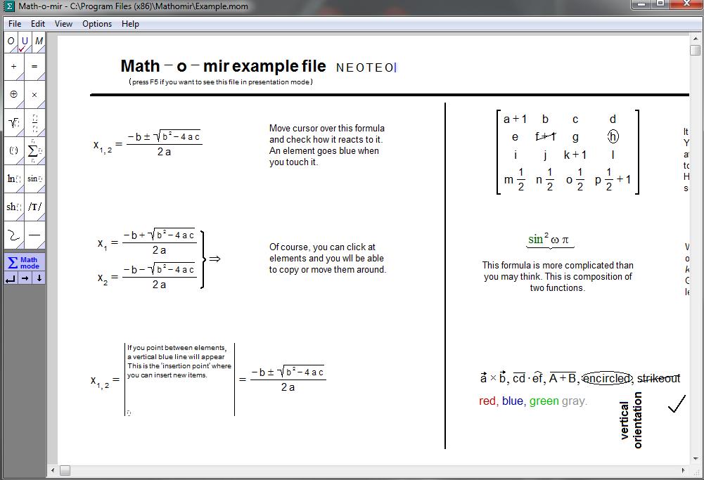 Como Escribir Ecuaciones Matematicas Neoteo
