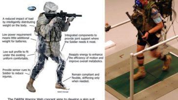 TALOS: Uniformes de DARPA para convertir en IronMan a los soldados