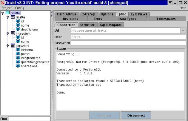Druid, The Database Manager