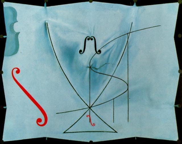 """Swallow tail"" de Salvador Dalí"